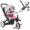 Велосипед M AL 3645-9 (1 шт/ящ) TURBOTRIKE, серо-розовый