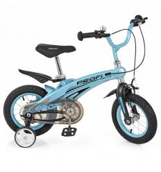 Велосипед детский PROF1 14д. LMG 14121 (1 шт/ящ) Projective, голубой