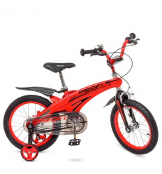 Велосипед детский PROF1 16д. LMG 16123 (1 шт/ящ) Projective, красный