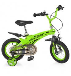 Велосипед детский PROF1 16д. LMG 16124 (1 шт/ящ) Projective, зеленый