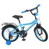 Велосипед детский PROF1 16д. Y 16104 (1 шт/ящ) Top Grade, бирюзовый