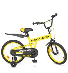 Велосипед детский PROF1 18д. L 18111 (1 шт/ящ) Driver, желтый