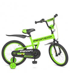 Велосипед детский PROF1 18д. L 18113 ( 1шт/ящ) Driver, салатовый