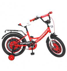Велосипед детский PROF1 18д. Y 1845 (1 шт/ящ) Original boy, красный