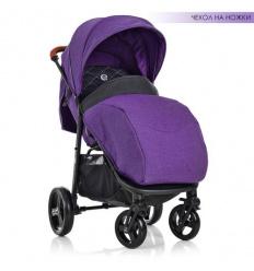 Коляска детская ME 1024 L X4 Violet (1 шт/ящ) EL CAMINO, прогулочная, фиолетовая