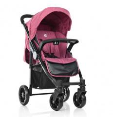 Коляска детская ME 1027L TEMPO Sangria (1 шт/ящ) EL CAMINO, розовая