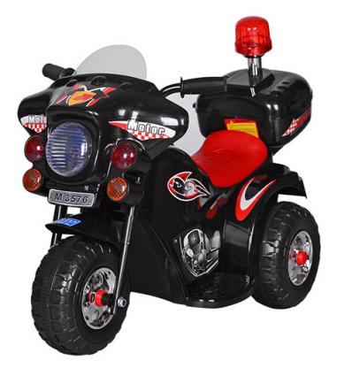 Мотоцикл M 3576-2 (1шт/ящ) BAMBI, Черный