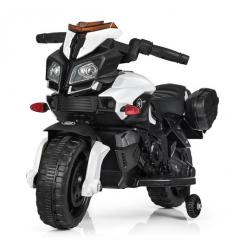 Мотоцикл M 3832 L-1 (1шт/ящ) BAMBI, Белый