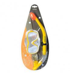 Набор для плавания 55647 (6 шт) INTEX, трубка, маска, в слюде