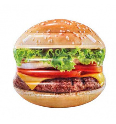 Плотик 58780 (6 шт) INTEX, Гамбургер, в кор-ке