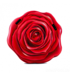 Матрас 58783 (6шт/ящ) INTEX, Красная роза, в коробке