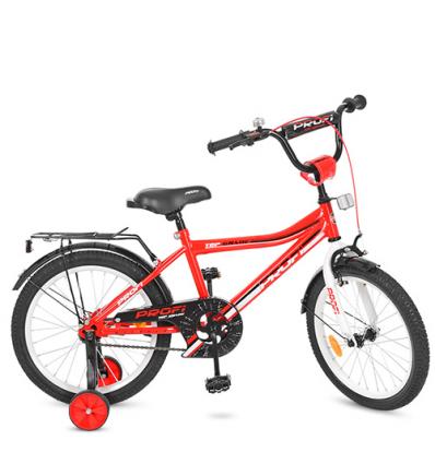 Велосипед детский PROF1 18д. Y 18105 (1шт/ящ) Top Grade, красный