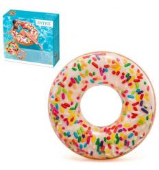 Круг 56263sh INTEX, Пончик, в коробке, 114 см
