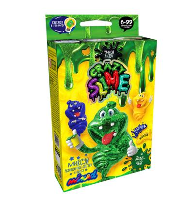 """Набор для опытов """"Crazy Slime"""" SLM-02-01-04 (1уп/8шт) Ручной лизун, МИНИ, """"Данко тойс"""", русский"""