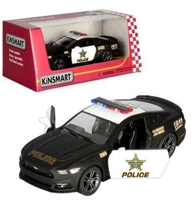 Машинка KT 5386 WP KINSMART, Полиция