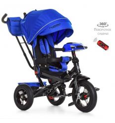 Велосипед M 4060-10 (1шт/ящ) TURBOTRIKE, Синий индиго