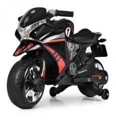 Мотоцикл M 3682 L-2 (1шт/ящ) BAMBI, Черный