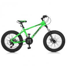 Велосипед 20 д EB20HIGHPOWER 2.0 A20.1 (1шт/ящ) PROFI, Салатовый, в коробке