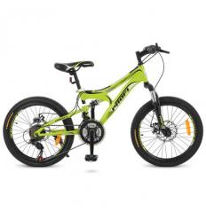 Велосипед 20 д. G20DAMPER S20.4 (1шт/ящ) PROF1, Зеленый