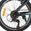 Велосипед 20 д. G20FIFA A20.1 (1шт/ящ) PROF1, Черно-голубой
