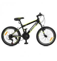 Велосипед 20 д. G20FIFA A20.3 (1шт/ящ) PROF1, Черно-желтый