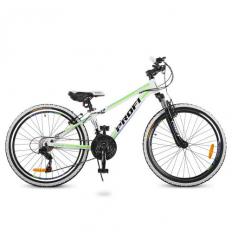 Велосипед 24 д. G24A315-L-3W (1шт/ящ) Бело-салатовый