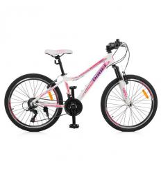 Велосипед 24 д. G24CARE A24.3 (1шт/ящ) PROFI, Белый