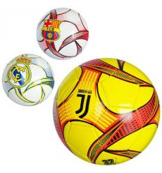 Мяч футбольный EV 3225 Клубы, в кульке