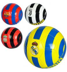 Мяч футбольный EV 3235 Клубы, в кульке