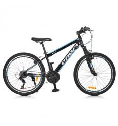 Велосипед 24 д. G24FIFA A24.1 (1шт/ящ) PROFI, Черно-голубой