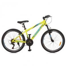 Велосипед 24 д. G24PLAIN A24.1 (1шт/ящ) PROFI, Салатовый