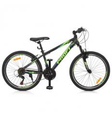 Велосипед 24 д. G24PLAIN A24.3 (1шт/ящ) PROFI, Черно-синий