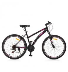 Велосипед 26 д. G26VEGA A26.2 (1шт/ящ) PROFI, Черно-розовый