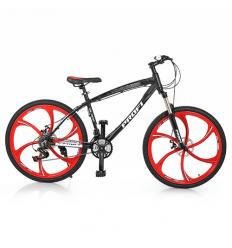 Велосипед 26д. BLADE 26.1B (1шт/ящ) PROFI, Черно-красный