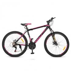 Велосипед 26д. G26YOUNG A26.4 (1шт/ящ) PROFI, Черно-розовый