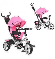 Велосипед M 3113-10 (1шт/ящ) TURBOTRIKE, Нежно-розовый
