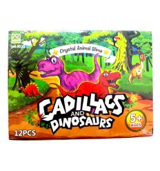 Лизун A 126 (1уп/12шт) Динозавр, в дисплее
