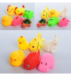 Животные 3295-6-7 пищалка, в кульке