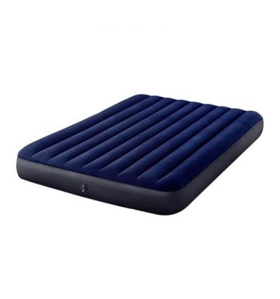Велюр матрас 64759sh (3шт/ящ) INTEX, 152-203-25 см, синий, в коробке