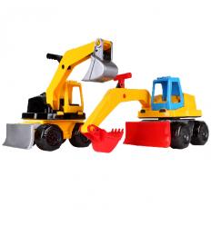 Трактор 6290 Технок, экскаватор