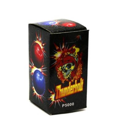 """Огненные шары P 5000 (1уп/12шт) Thunderbolt, """"Удар молнии"""", в дисплее"""