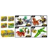 Конструктор ZM 312 JW, динозавр, фигурка, транспорт/строение
