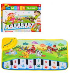 Коврик LT 3902 Пианино, на батарейках, в коробке