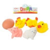 Пищалка 600-2H животные, в кульке