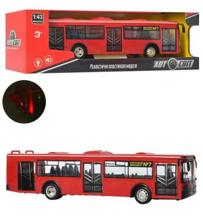 Автобус AS-1826 АвтоСвіт, инерционный, в коробке