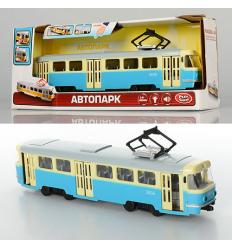 Трамвай 9708-C PLAY SMART, на батарейках, в коробке