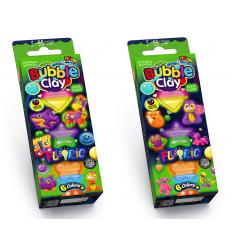 "Пластилин шариковый BBC-FL-6-01,-02 ""Bubble Clay"", ""FLUORIC"", 6 цв"