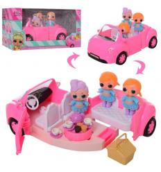 Кукла LOL-G8 LOL, машина LOL, куклы LOL, на батарейке