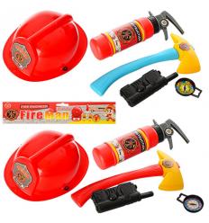 Набор пожарника 9212-6 в кульке