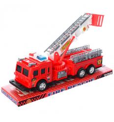 Пожарная машина SH-9008 инерционная, в слюде